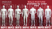 Normal Male Mannequins