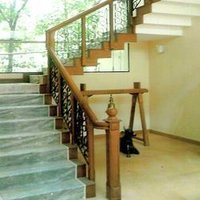 Woodwork Stair Railings