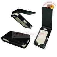 FS09007 For IPhone 4G Leather Flip Case