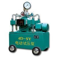 Motor-Driven Pressure Test Or Electric Pressure Testing Pump