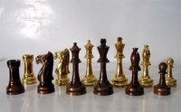 Brass Chess Pieces