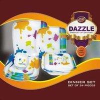 Melamine Unbreakable Dinner Set (Dazzle)