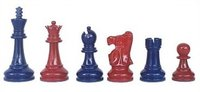 Lacquered Chess Sets (091-Blu)