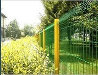 Welded Panel Wire Mesh Fence