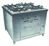 Four-Burner Cooking Range