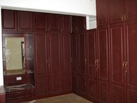 Black Board Veneer Wardrobe