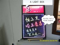LED Writing Board With A Light Box Acrylic