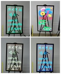 Tempered Glass Transfer LED Writing Board