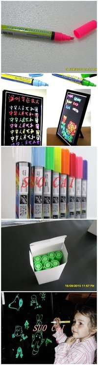 8colors Fluorescent Marker Pen 6mm
