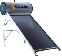 Flat-Plate Solar Water Heater