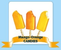 Mango-Orange Ice Candy