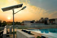 Solar LED Based Street Light System