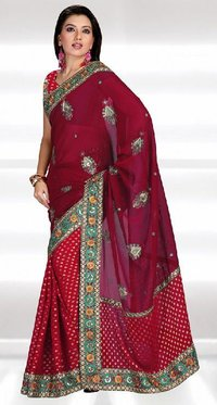 Pretty Georgette Palla Saree