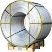 Commercial Alloys Grade Alluminium Wire Rod for Steel Plants