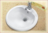 Round Top Counter Wash Basins
