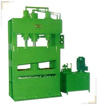 Hydraulic Press For Tyre Cutting