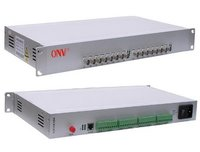 8 Channel Video Optical Transceiver With Ethernet