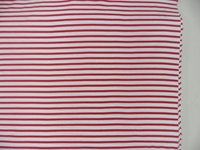 Yarn Dyed Fiber Stripe Heavy Jersey Fabric