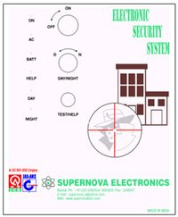 Electronic Security System (Wire Base & Wireless)