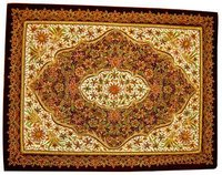 Embroidered Jewel Carpets