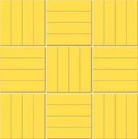 Yellow Color Mosaic Tiles