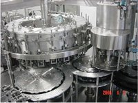 Automatic Rinsing, Filling, Capping And Labeling Line