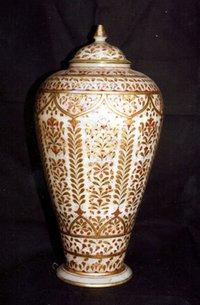 Marble Handicraft Jar