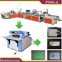 Pnw-A Series Full-Automatic Multifunctional Non-Woven Bag-Making Machine