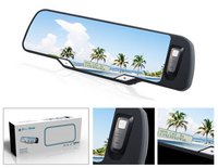 Car Bluetooth Mirror With Caller Id Display