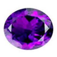 Oval Shape Amethyst Stones