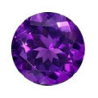 Round Shape Amethyst Stones