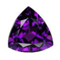 Trillion Shape Amethyst Stones