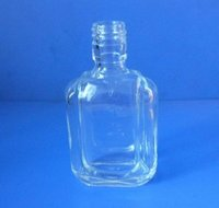 Oval Glass Bottle