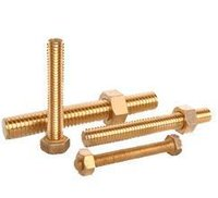 Brass Industrial Bolts