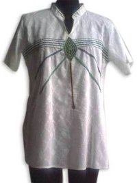 Stand Collar Ladies Kurtis