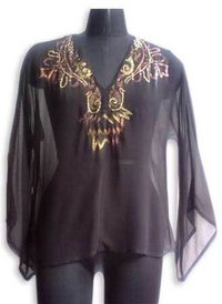 Ladies Cotton Voile Blouses