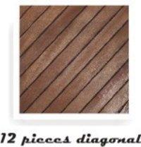 12 Pcs Diagonal Deck Flooring