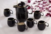 Black Gold Mug Set