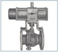 Marshal Pneumatic Operated Ball Valve