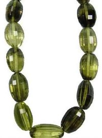 Bi-Color Lemon Quartz Faceted Oval Beads