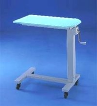 Hospital Adjustable Bed Side Table