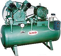 Double Cylinder Single Stage Air Compressors