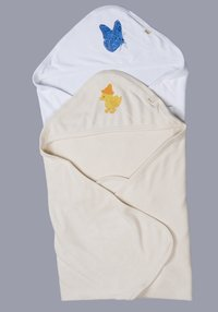Two Layer Hooded Baby Bath Towels