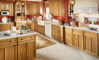 Oak Kitchen Cabinet Units