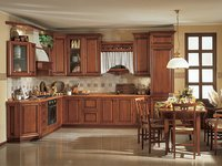 Archaize Solid Wood Kitchen Cabinet Units