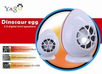 Dinosaur Egg 2.0 Mini Digital USB Speaker