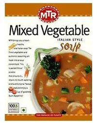 Mixed Vegetable Soups