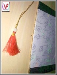 Invitation Card Tassels