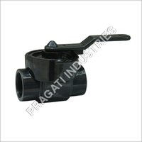 Pp One Piece Top Entry Ball Valves