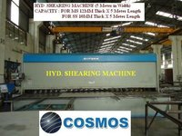 Hyd Shearing Machine